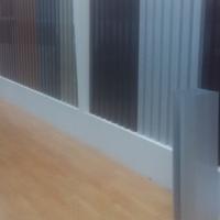 办公高隔墙铝型材 办公高隔间