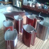 花纹铝板 铝型材隔断