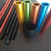 国标6061diy彩色铝管装饰铝方管铝合金圆管