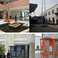 铝合金升降机厂双桅柱铝合金升降机应用范围