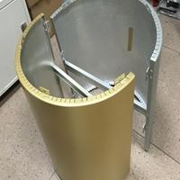 海南包柱铝单板厂家 幕墙铝单板 圆形铝单板