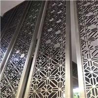 會所氣派木紋鋁窗花裝飾