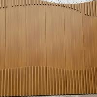 长沙酒店木纹铝单板-铝单板幕墙厂家