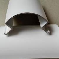白色高光铝圆角铝型材厂家包柱圆角铝价格