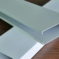 5x10u型方通铝合金吊顶 白色u型铝方通天花
