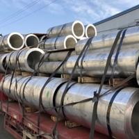 6063T5 6063H112铝管无缝管方铝管