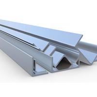 6063角铝槽铝6063T5铝滑道