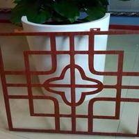 吉安烤漆铝窗花装饰 木纹铝窗花厂家直销