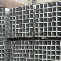 国标6063铝方管、薄壁铝方管定尺6米
