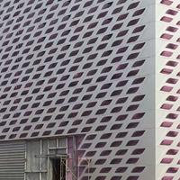 氟碳面金屬幕墻廠,PVDF氟碳烤漆鋁墻板