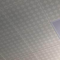 小方格孔冲孔铝方板 吸音阻燃方形