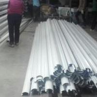 云南油站天棚R60铝型材护角立柱铝单板