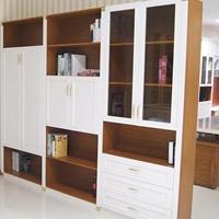 全铝家具铝型材批发成品定制全铝书柜衣柜