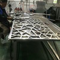 方管焊接铝窗花_热转印仿木纹铝窗花