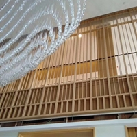 会议室铝窗花铝板铝花格厂家