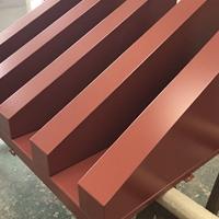 白色氟碳三角形铝单板