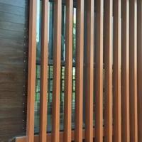 木纹铝方通室内吊顶学校铝方通吊顶天花