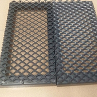 丽江外墙菱形铝网板厂家直销  拉伸铝网板