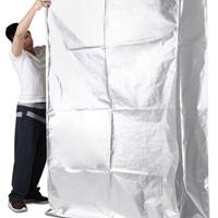 供应 立体真空铝塑袋机械防锈包装袋