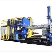 铝管挤压临盆线装备,800吨挤压装备,成型机