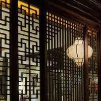 走廊铝窗花铝板铝花格厂家