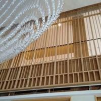 美容馆中国风铝窗花铝板铝花格厂家