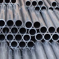 环保铝合金6043铝管 氧化6063铝方管