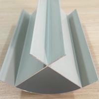 江陰生產廠家直銷凈化鋁型材外圓弧鋁
