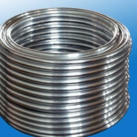 佰恒专业生产铝管6061圆盘铝管铝盘管厂家