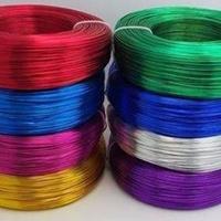 供应6063彩色氧化铝线5052铝线厂家