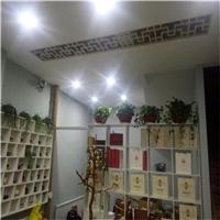 复古铝窗花书房客厅装饰铝隔断铝窗花