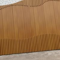 木纹铝单板幕墙-木纹铝单板定制价格