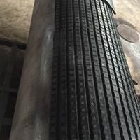 供应耐磨陶瓷滚筒包胶 耐磨陶瓷复合板