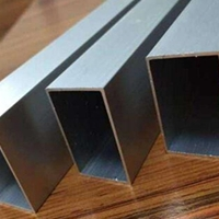 环保5052氧化铝方管 6082-T6空心铝方管