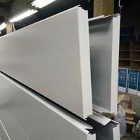 加油站s型防风条扣铝天花板的安装