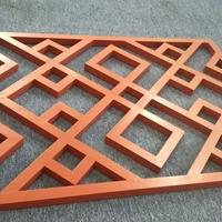 仿木纹铝花格款式设计厂家
