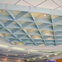 装配简朴单纯 铝格栅 黉舍铝格栅 透风透气吊顶