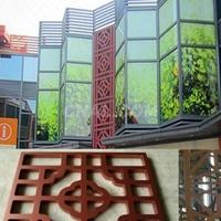 高等澡堂铝窗花铝板铝花格厂家