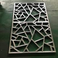 寫字樓中式鋁窗花鋁板鋁花格廠家