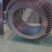 大截面太阳花散热器铝型材加工厂