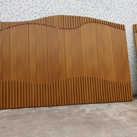 質保15年仿木紋鋁單板-復古木紋鋁單板廠家