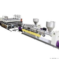 金纬机械高产量PP修建模板临盆线