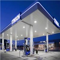 廊坊市石油加油站罩棚鋁條扣