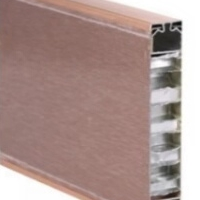 蜂窝板吸音板 铝合金蜂窝隔断板 幕墙板定做