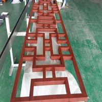 人民大会堂檐口(红木纹铝窗花)项目案例