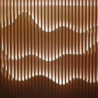 弧形铝方通天花吊顶-外墙氟碳铝方通