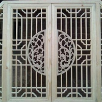 门头铝窗花