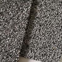 泡沫铝高效吸音隔音消音降噪发泡铝装饰材料