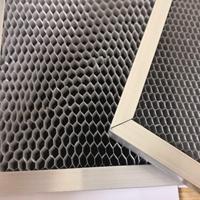 铝基蜂窝光触媒过滤网 臭氧分化滤网