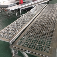 15mm厚镂空雕花雕刻铝板业生产厂家